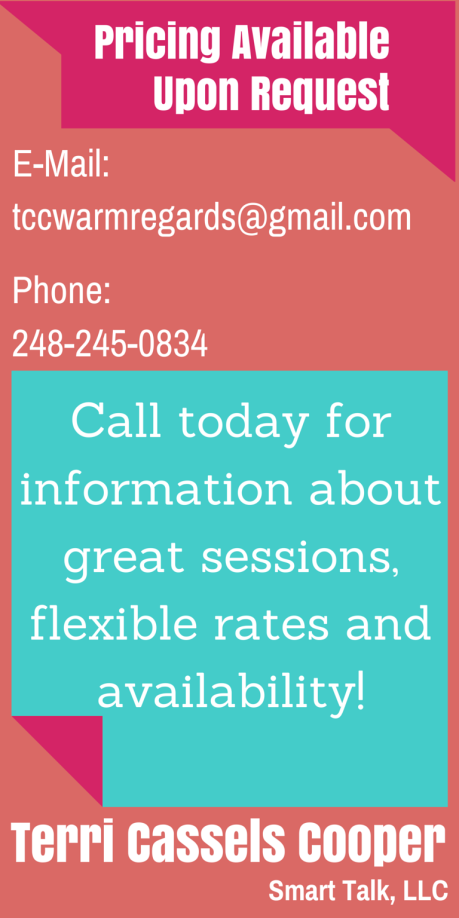 Speaking Contact Info